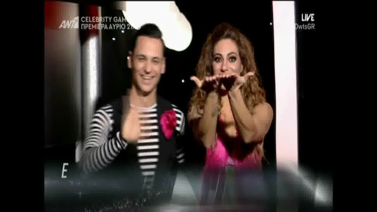 DWTS 6: Ευρυδίκη Βαλαβάνη & Παύλος 5ο live