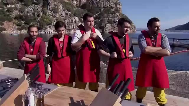 MasterChef: Οι παίκτες σε ρόλο ψαρά!