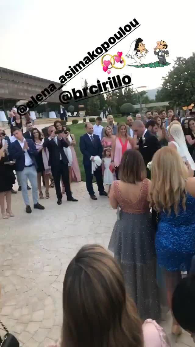 Έλενα Ασημακοπούλου & Bruno Cirillo: Παντρεύτηκαν!