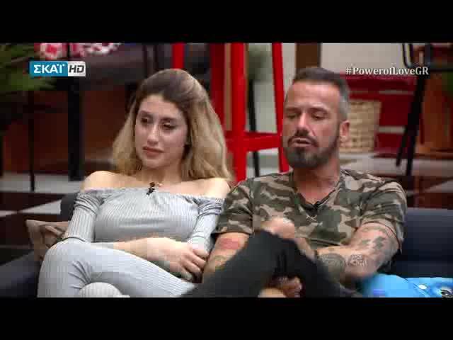 Power of Love: Ο Νίκος «καρφώνει» τη Μαρίνα για τους λόγους που γύρισε στο παιχνίδι