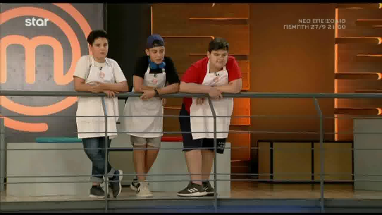 MasterChef Junior: Οι οκτώ παίκτες που συμπλήρωσαν την 11άδα των αγοριών