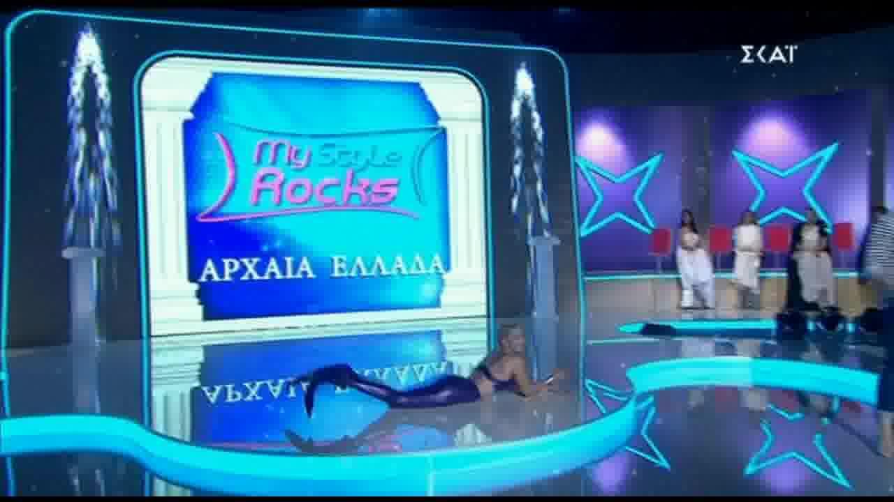 Ιωάννα Τούνη: Γοργόνα στο My Style Rocks Gala