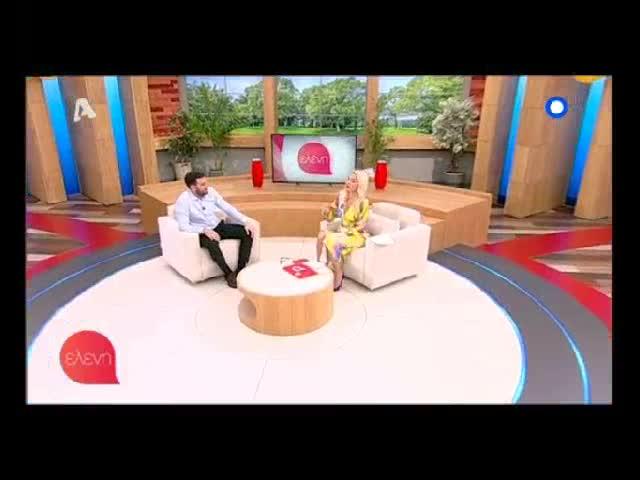 Νίκος Πολυδερόπουλος: Η τηλεοπτική συνάντηση με την Ελένη Μενεγάκη | Μέρος Β