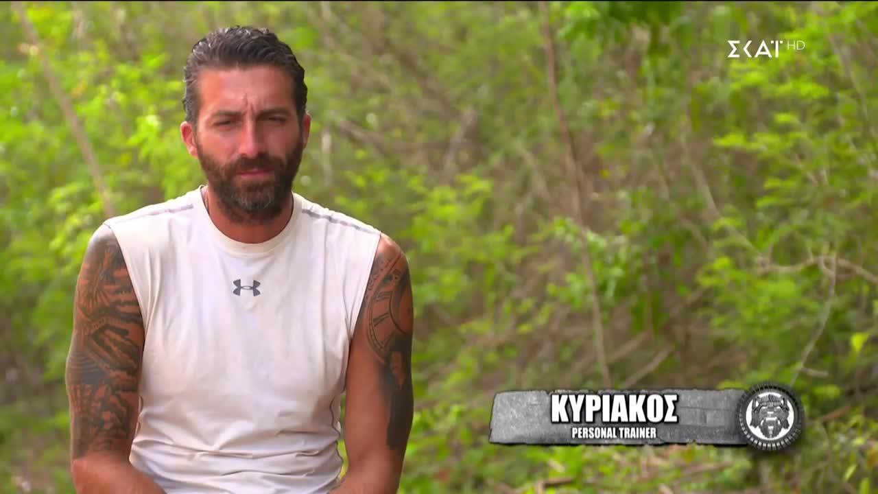 Survivor: Τα σχόλια του Κυριάκου για τους Τούρκους της ομάδας του: «Οι Τούρκοι συμπαίκτες μου δεν τρελαίνονται για την ασυλία»