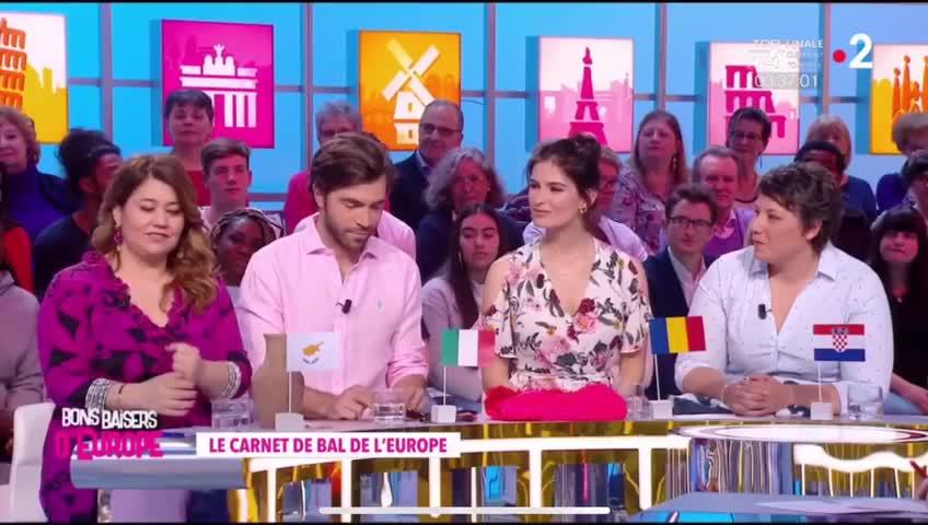 Μαριέλλα Σαββίδου: Οι πρώτες εικόνες από την εκπομπή της στη γαλλική τηλεόραση