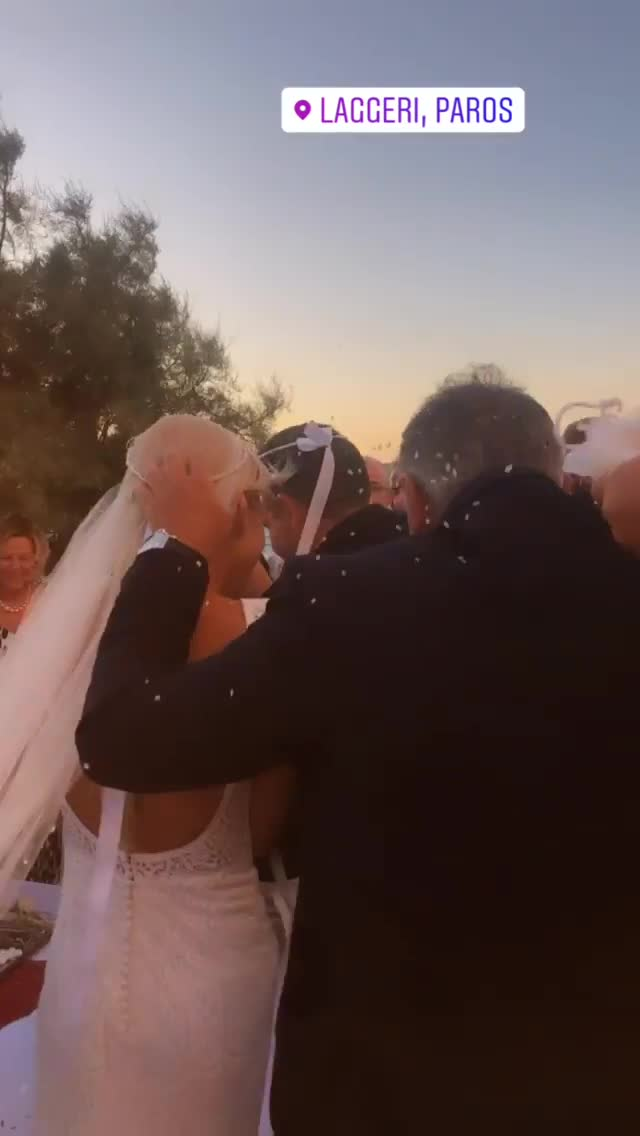 Μαρία Φραγκάκη - Νίκος Μάρκογλου: Παντρεύτηκαν