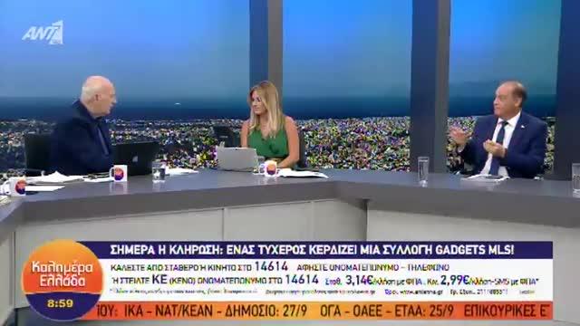Γιώργος Παπαδάκης: Έπεσε από την καρέκλα on air