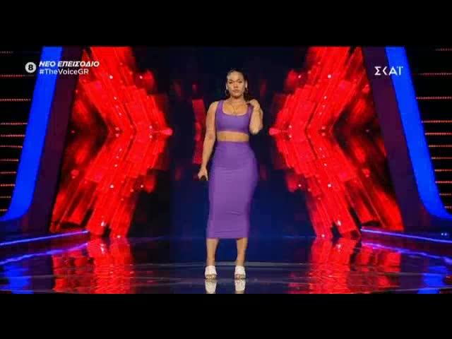 The Voice: Η blind audition της Βάλια Δήμου