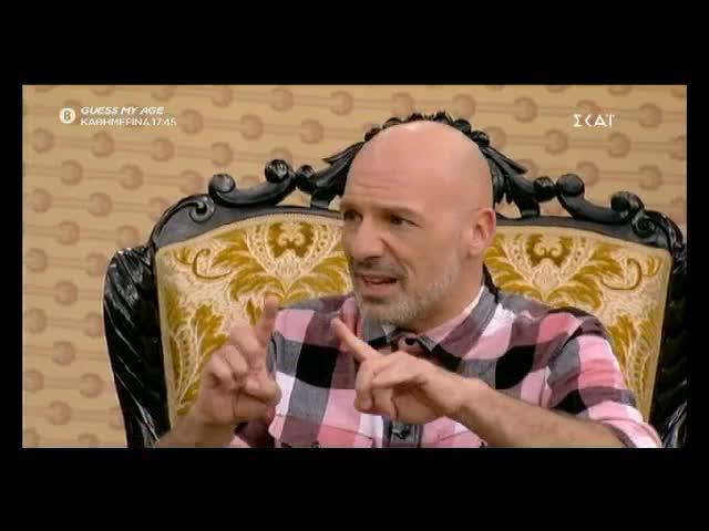 Σταμάτης Φασουλής: Η τηλεοπτική συνάντηση με τον Νίκο Μουτσινά