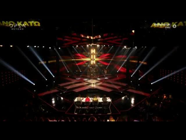 X-Factor: Η αποχώρηση από το 5ο live show