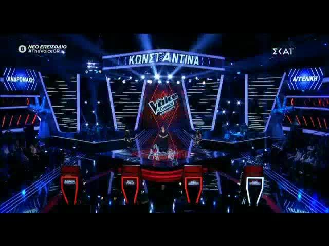 The Voice | Knockout: Κωνσταντίνα