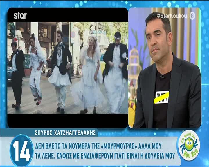 Σπύρος Χατζηαγγελάκης: Ο διάσημος με τον οποίο τον μπερδεύουν & η «ματσίλα» του μουστακιού του