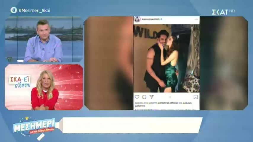 GNTM: Η Ίλντα Κρόνι ζευγάρι με Ινδό σταρ