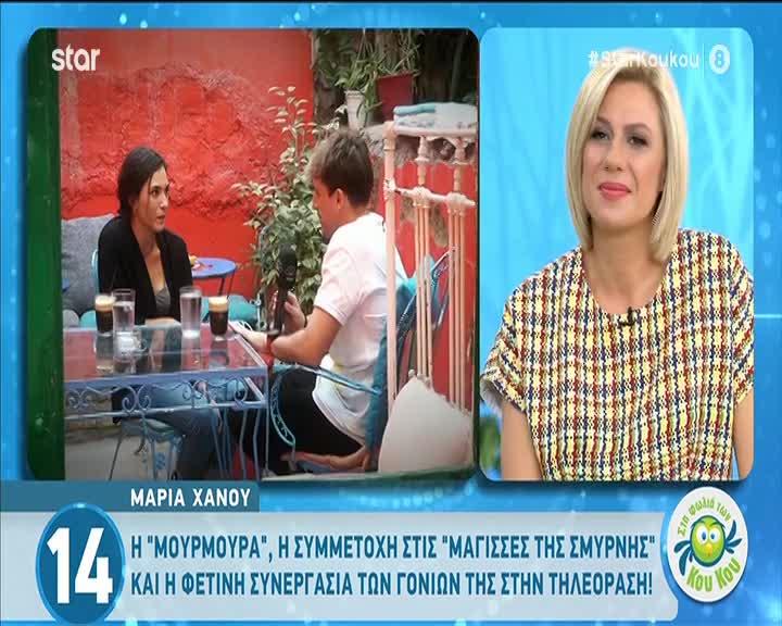 Μαρία Χάνου: Οι διάσημοι γονείς της & η επιθυμία της να γίνει ηθοποιός