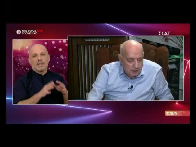 Νίκος Μουτσινάς: Οι ευχές του Αθανάσιου Αραμπατζή για τη γιορτή του