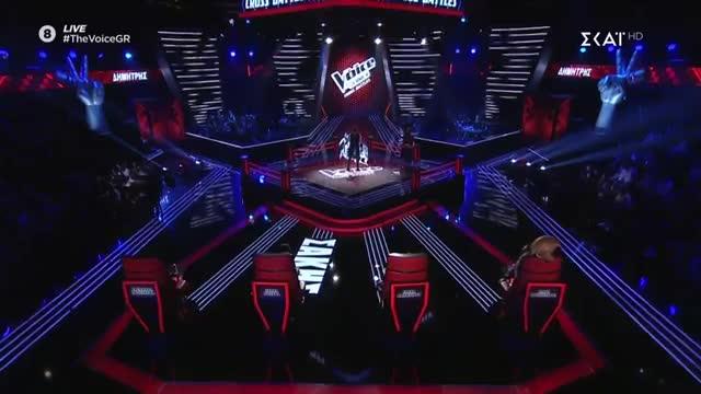 The Voice | Cross Battle: Δημήτρης Γεράρδος