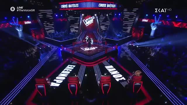 The Voice | Cross Battle: Ελπίδα Γαδ