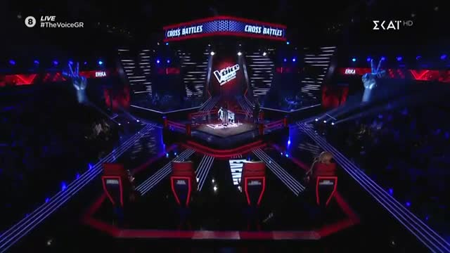 The Voice | Cross Battle: Erika Soteri