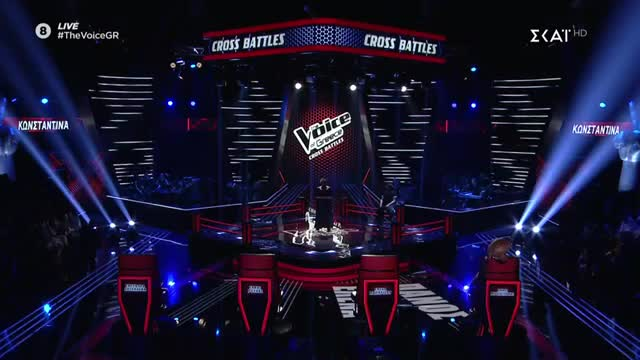 The Voice | Cross Battle: Κωνσταντίνα Υφαντή