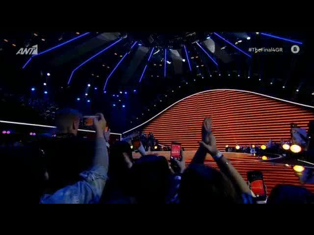 The Final Four: Η εκρηκτική εμφάνιση της Ελένης Φουρέιρα