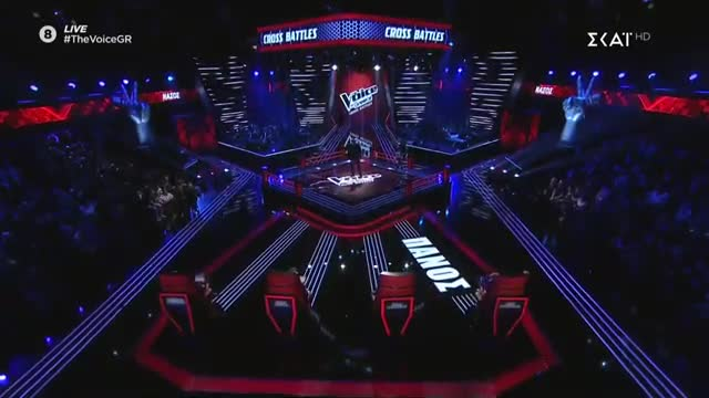 The Voice | Cross Battle: Νάσος