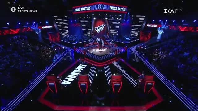 The Voice | Cross Battle: Κωνσταντίνα Κορδούλη