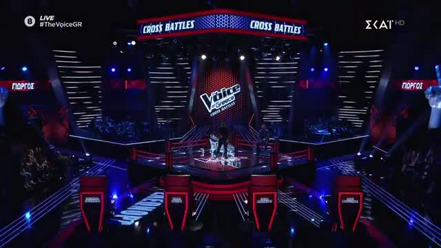 The Voice | Cross Battle: Γιώργος Ευθυμιάδης