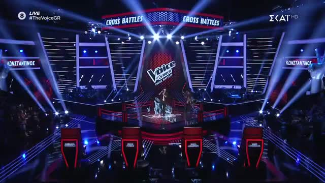 The Voice | Cross Battle: Κωνσταντίνος Φραντζής
