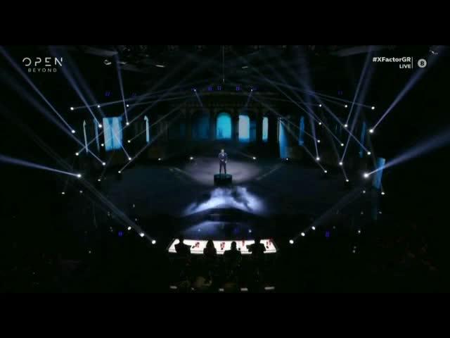 X-Factor: «Πότε θα σε δω» από τον Γιάννη Γρόση