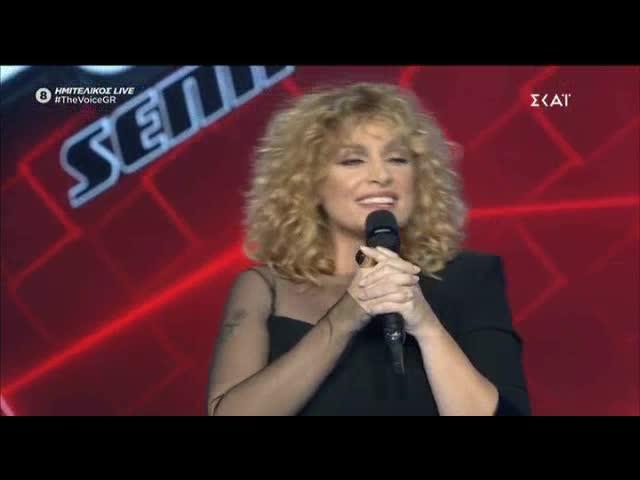 The Voice: Η guest εμφάνιση της Ελεωνόρας Ζουγανέλη