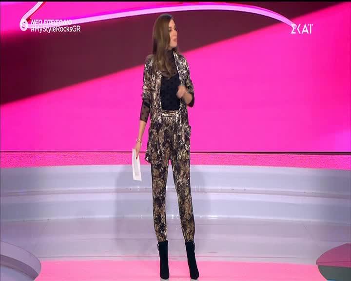 My Style Rocks: Η πρώτη εμφάνιση της Σοφιάνας Σπίνουλα