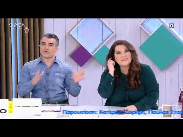 Μεσημέρι #Yes: Φινάλε για Κατερίνα Ζαρίφη και Παύλο Σταματόπουλο