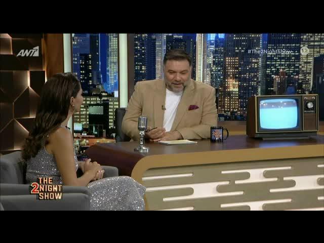 Κατερίνα Παπουτσάκη: Η εντυπωσιακή εμφάνιση στο The 2Night Show